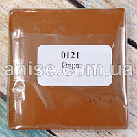 Полимерная глина Пластишка, №0121 охра, 75 г / Полімерна глина Пластішка, №0121 охра, 75 г