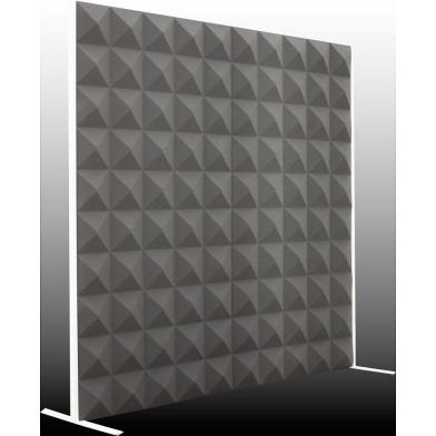 Акустическая ширма Ecosound Acoustic Pyramid 200х200 см, черный графит