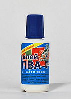Клей ПВА  50мл с кисточкой ab-1162