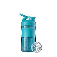 Blender Bottle, Спортивный шейкер-бутылка BlenderBottle SportMixer Teal, 500 мл, фото 1