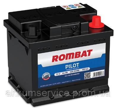 Акумулятор автомобільний ROMBAT PILOT 44AH R+ 320A (PB144)