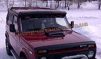 Козырек на лобовое стекло (с оргстекло) на ВАЗ 2131-21314 Лада Нива