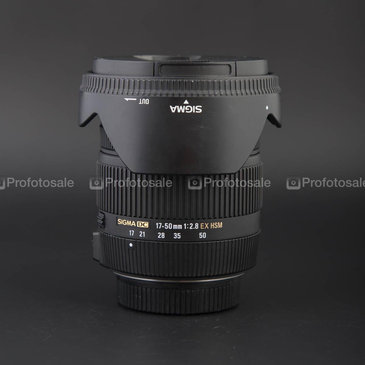 Sigma 17-50 F2.8 EX DC OS для Nikon