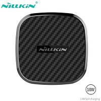 Магнитный автодержатель с беспроводной зарядкой Nillkin Car magnetic wireless charger Fast charge 10W -B Model