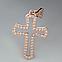 Золотой крестик. ПП548, фото 3