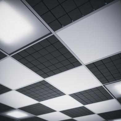 Акустическая плита для подвесных потолочных систем Ecosound Tetras Armstrong 50 мм 0,6х0,6 м