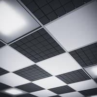 Акустическая плита для подвесных потолочных систем Ecosound Tetras Armstrong 50 мм 0,6х0,6 м, фото 1