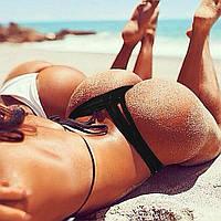 Бикини пляжные стринги