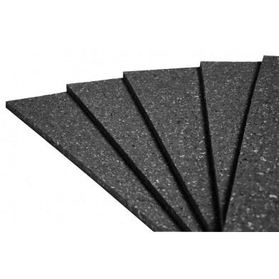 Акустическая плита Ecosound Macsound Prof 5 мм 1Х0,5 м, графитно-черный для звукоизоляции пола