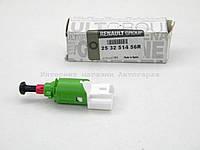 Датчик педали сцепления (4 контакта) (+саж.фильтр) на Рено Кенго II (2008>) — Renault (Оригинал) - 253251456R