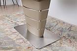 Обеденный стол ATLANTA 120/160х80 мокко сатин Nicolas (бесплатная доставка), фото 8