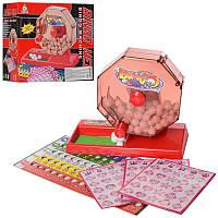 Настольная карточная игра Бинго Bingo лото, игровое поле, карточки, шарики, игра для всей семьи, 203