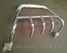 Кенгурятник на ВАЗ 2110-11-12 из нерж. стали (с защитой картера на 3 клыка) D42