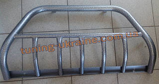 Кенгурятник на   ВАЗ 2113-14-15   из нерж. стали (с защитой картера 5 клыков) D42