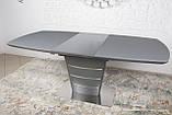 Стол обеденный раздвижной серый ATLANTA (Атланта) 140/180 графит Nicolas (бесплатная доставка), фото 10