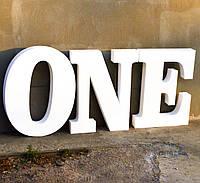 Цифры Буквы из Пенопласта 90-99 см Объемные Большие Декоративные Декорации на торжество слова на свадьбу, фото 1