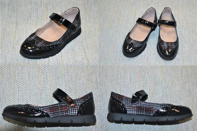 Туфлі-човники для дівчинки, Belali фото