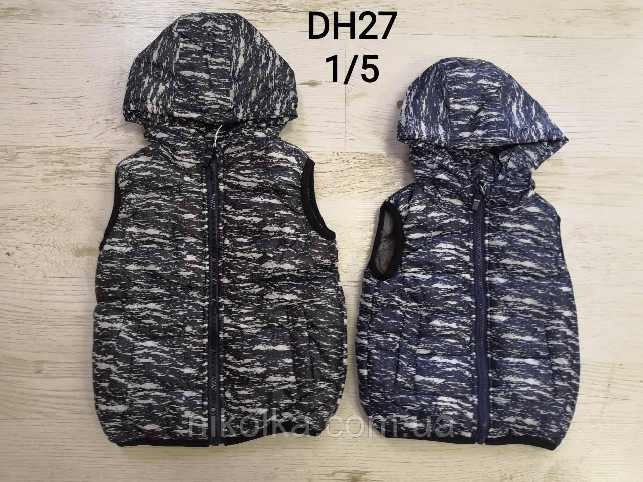 Безрукавки на меху для мальчика оптом, Sincere, 1-5 лет, арт. DH27