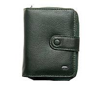 Женский кожаный кошелек визитница 9*12*3 зеленый, фото 1