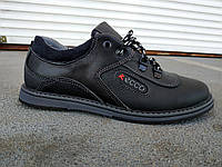 Подростковые кожаные туфли для мальчика 35-40 р-р, фото 1
