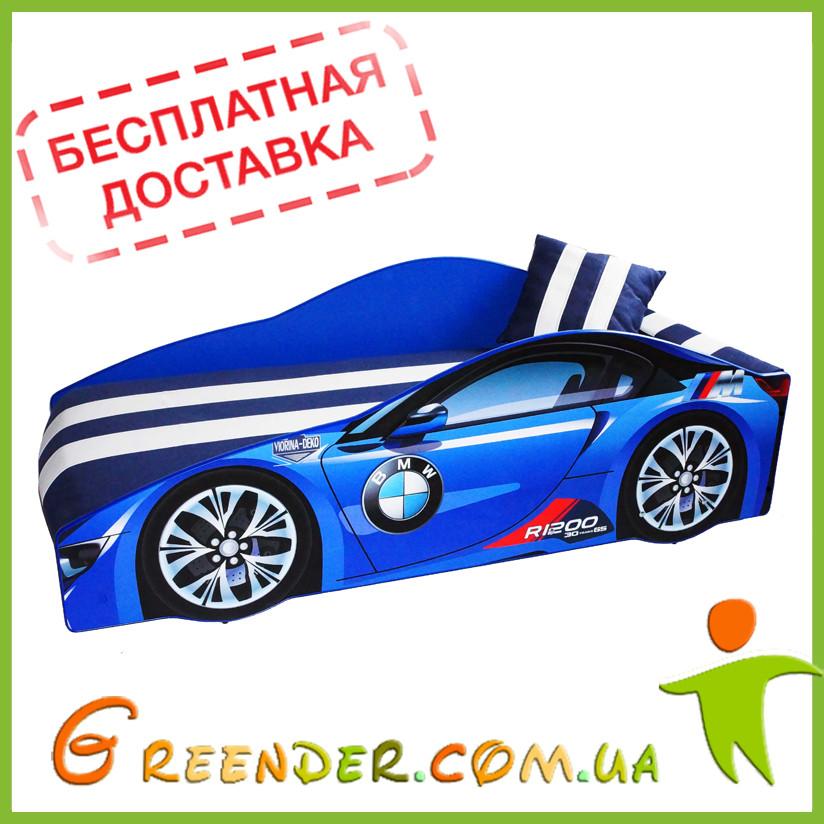 Кровать для мальчика BMW Elite в 4 цветах