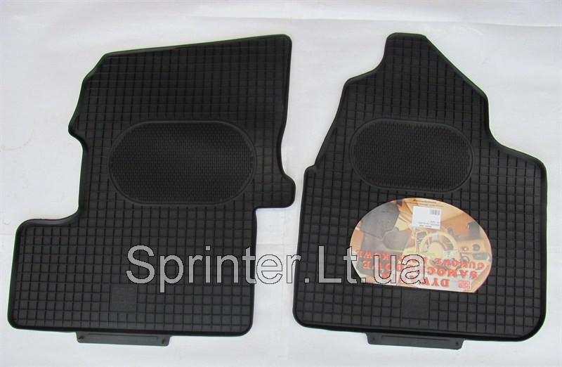 Коврики резиновые MB Sprinter/VW Crafter 06- (2шт.)