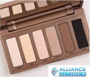 Косметика макияж палитра тени для век палитра 6 цветов