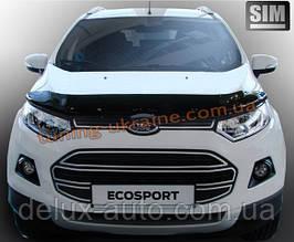 Дефлекторы капота Sim для Ford Ecosport Кроссовер 2013