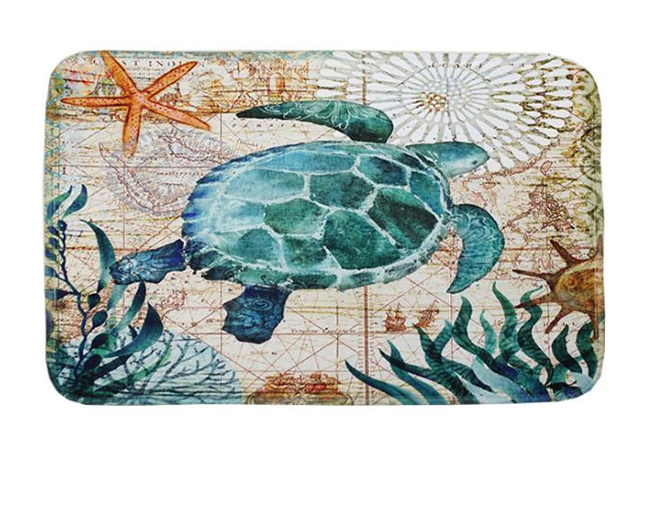 Абсорбирующий коврик «Морская черепаха» 40×60 см