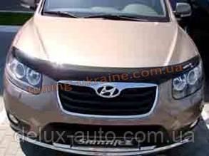 Дефлекторы капота Sim для Hyundai Santa Fe 2006-10