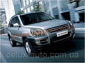 Дефлекторы капота Sim для Kia Sportage 2004-10