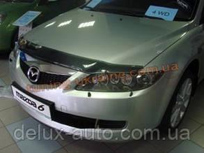 Дефлекторы капота Sim для Mazda 6 2002-07