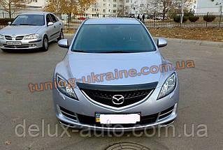 Дефлектори капоту Sim для Mazda 6 2007-12