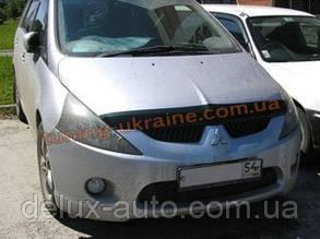 Дефлекторы капота Sim для Mitsubishi Grandis 2003-2011
