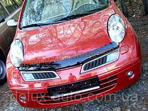 Дефлекторы капота Sim для Nissan Micra 2003-11