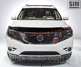 Дефлекторы капота Sim для Nissan Pathfinder 2014