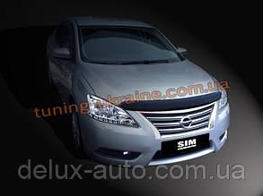 Дефлекторы капота Sim для Nissan Sentra седан 2012