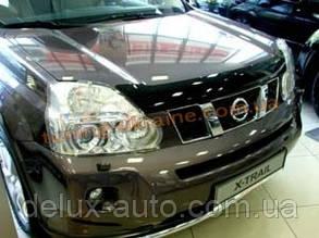 Дефлекторы капота Sim для Nissan X-TRAIL 2007-14