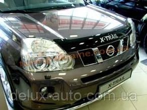 Дефлекторы капота Sim с надписью для Nissan X-TRAIL 2007-14