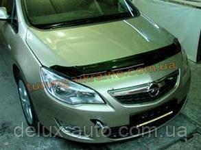 Дефлекторы капота Sim для Opel Astra Хетчбэк 2009-15