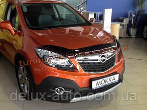 Дефлекторы капота Sim для Opel Mokka кроссовер 2012
