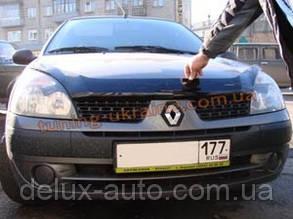 Дефлекторы капота Sim для Renault Simbol 2002-08