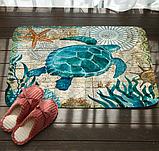 Абсорбирующий коврик «Морская черепаха» 40×60 см, фото 10