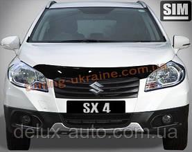 Дефлекторы капота Sim для Suzuki SX4 2013