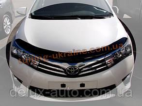 Дефлекторы капота Sim для Toyota Corolla 2013
