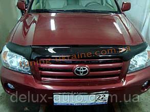 Дефлекторы капота Sim для Toyota Highlander 2007-13