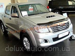 Дефлекторы капота Sim для Toyota Hilux 2011-15