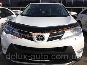 Дефлекторы капота Sim для Toyota RAV-4 2013-15