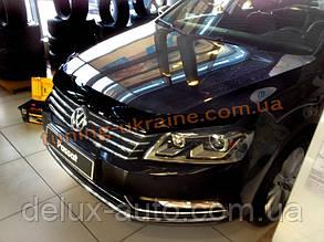Дефлекторы капота Sim для Volkswagen Passat седан универсал 2010-14