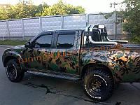 Дефлекторы боковых окон  Sim для Ford Ranger 2007-11